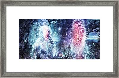 Giants Of The Sun Framed Print