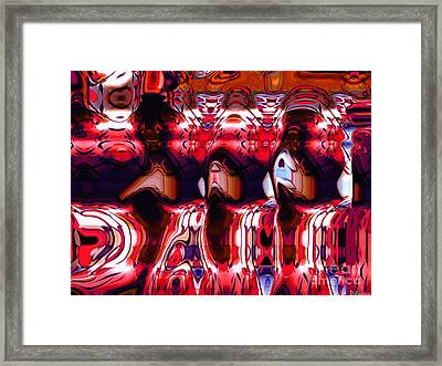 Giants-w-simplified Framed Print by David Winson