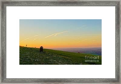 Gibbet Landscape Framed Print