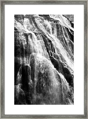 Gibbon Falls Framed Print by Bill Gallagher