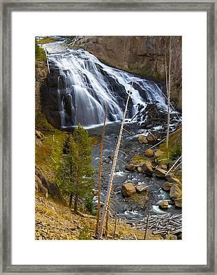 Gibbon Falls Framed Print