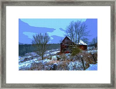 Gibisonville - Ohio 2 Framed Print