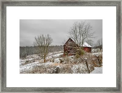 Gibisonville - Ohio Framed Print by Brian Stevens