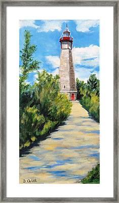 Gibraltar Point Lighthouse Framed Print