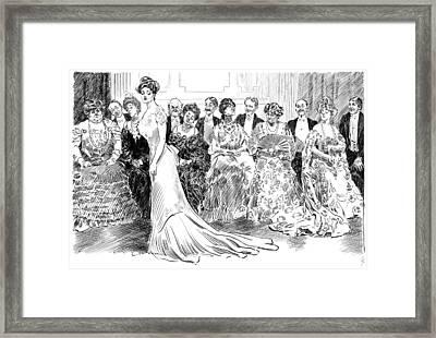 Gibson Ballroom, C1904 Framed Print by Granger