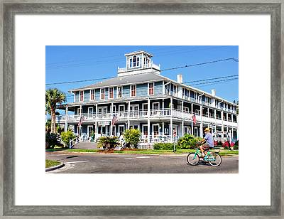 Gibson Inn Framed Print by Lynn Jordan