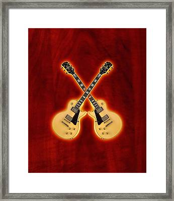 Gibson Randy Rhoads Les Paul Custom Framed Print