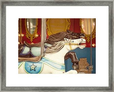 Giddy Up Framed Print by Juli Scalzi