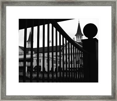Giddyup Framed Print by Robert McCubbin