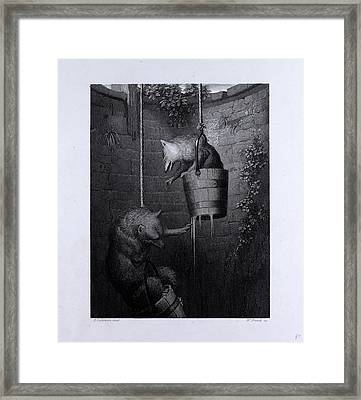 Gieremund In The Well Framed Print by English School
