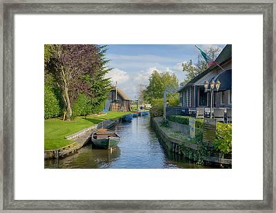 Giethoorn Framed Print