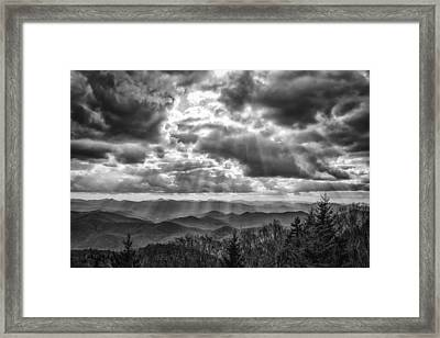 Gift From Above Framed Print