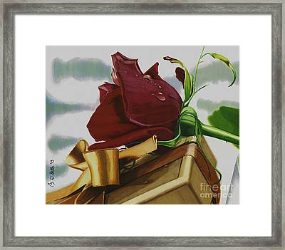Gift From Heaven Framed Print