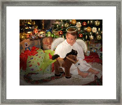 Gift Of Christmas Framed Print by Doug Kreuger
