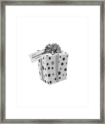 Gift Of Salvation Framed Print by Stephanie Grooms