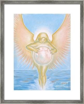 Gift Of The Golden Goddess Framed Print