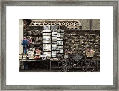 Gift Shop Framed Print by Svetlana Sewell