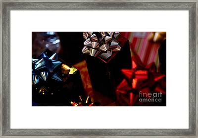 Framed Print featuring the photograph Gifts by Linda Shafer