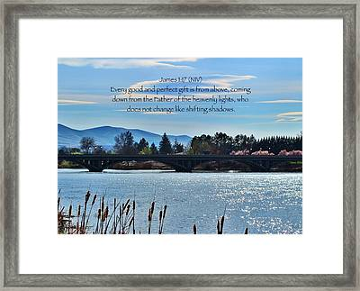 Gifts Framed Print by Lynn Hopwood