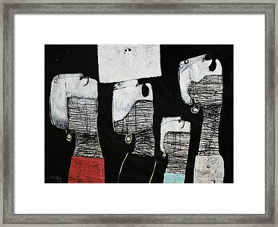 Gigantes No. 10 Framed Print by Mark M  Mellon