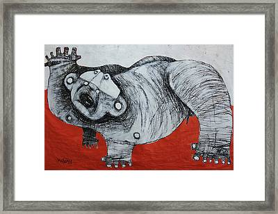 Gigantes No. 2 Framed Print by Mark M  Mellon