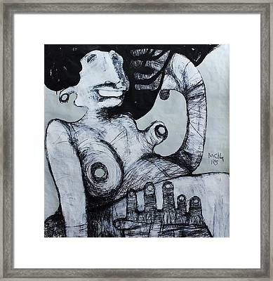 Gigantes No. 3 Framed Print by Mark M  Mellon