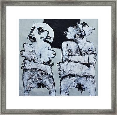 Gigantes No. 4 Framed Print by Mark M  Mellon