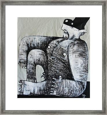 Gigantes No. 5 Framed Print by Mark M  Mellon