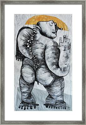 Gigantes No. 6 Framed Print by Mark M  Mellon