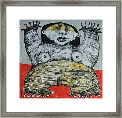Gigantes No. 7 Framed Print by Mark M  Mellon