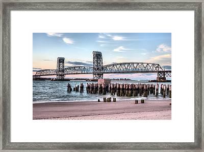 Gil Hodges Memorial Bridge Framed Print