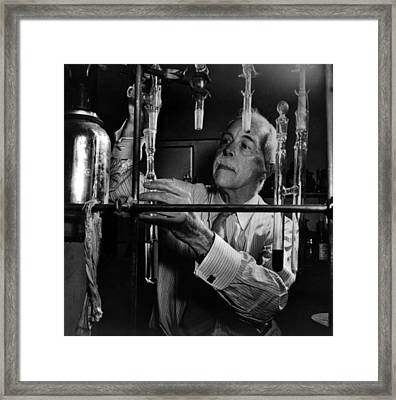 Gilbert N. Lewis, American Physical Framed Print by Science Source