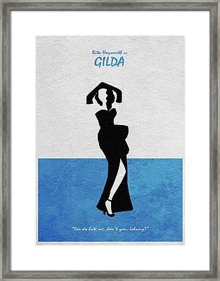 Gilda Framed Print by Ayse Deniz