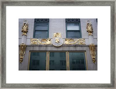 Gilded Beauty Framed Print