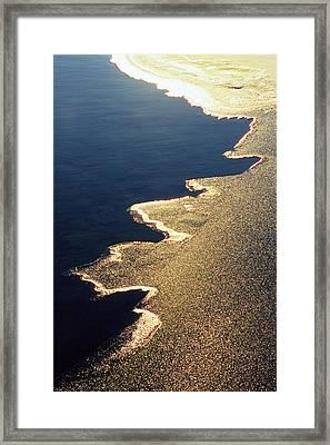 Gilded Edge - Lake Geneva Wisconsin Framed Print