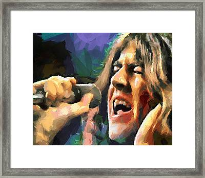 Gillan Child In Time 1970 Framed Print by Yury Malkov