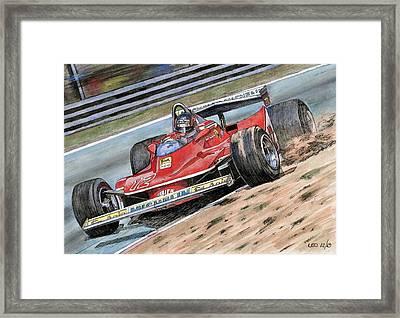 Gilles Framed Print