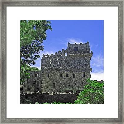 Gillette's Castle Framed Print by Barbara McDevitt