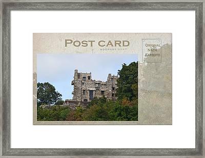 Gillette's Castle Framed Print by Marjorie Tietjen