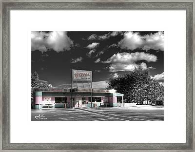 Gillis' Drive-in Framed Print