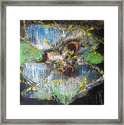 Framed Print featuring the painting Gimme Moore by Lucy Matta