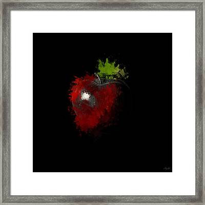 Gimme That Apple Framed Print by Lourry Legarde