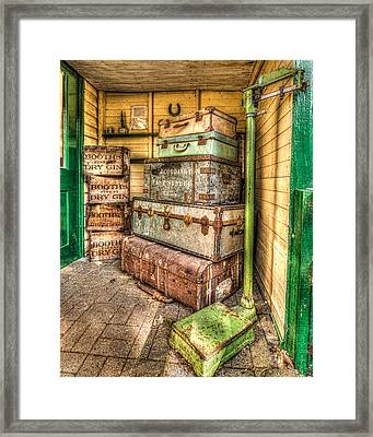 Gin And Baggage Framed Print
