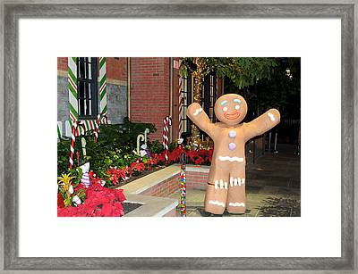 Ginger Bread Man Framed Print