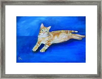 Ginger Framed Print by Fineartist Ellen
