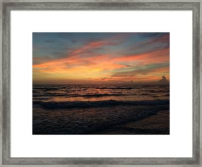 Ginger Sky  Framed Print