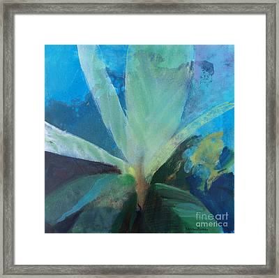 Framed Print featuring the painting Ginger Tea by Robin Maria Pedrero