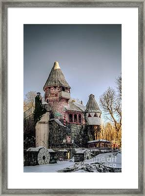 Gingerbread Castle Framed Print by Jeffrey Miklush