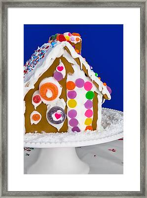 Framed Print featuring the photograph Gingerbread House by Vizual Studio