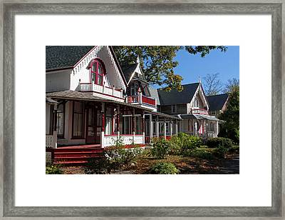Gingerbread Housing Framed Print by Juergen Roth